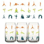 Namaste For A Drink Can Glass