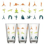 Namaste For A Drink Pint Glass